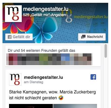 Die Facebook Like Box ist datenschutzrechtlich bedenklich